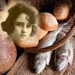 1525 Beata María Inés panes y peces